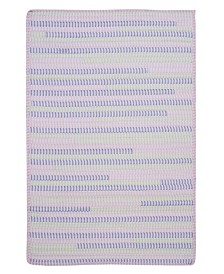 Colonial Mills Ticking Stripe Rect Dreamland 2' x 4' Accent Rug