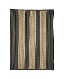 Boat House Gray 2' x 4' Accent Rug