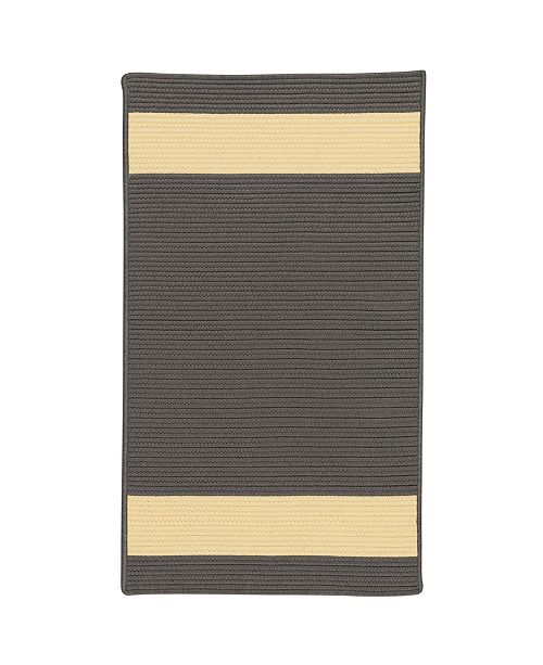 Colonial Mills Aurora Grey Yellow 2' x 4' Accent Rug