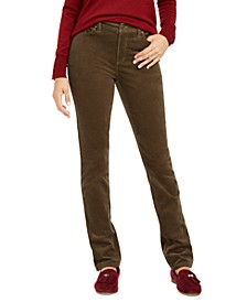 Lexington Corduroy Tummy-Control Pants, Created for Macy's