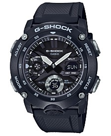 G-Shock Men's Analog-Digital Black Resin Strap Watch 48.7mm