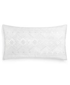 "Stitch Diamond 14""x26"" Decorative Pillow"