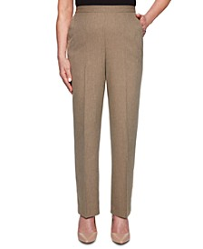 Petite Boardroom Straight-Leg Pants