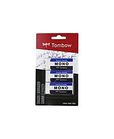 MONO Eraser, Medium, 3-Pack