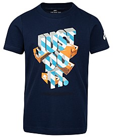 Nike Little Boys Just Do It-Print Cotton T-Shirt