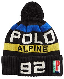 Colorblocked Cuffed Hat