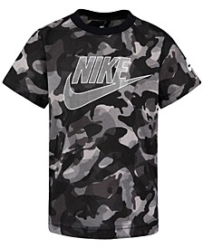 Little Boys Camo-Print Cotton T-Shirt