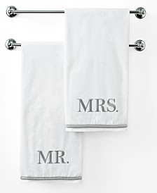 "Avanti Bath Towels, Mr. or  Mrs. 27"" x 50"" Bath Towel"
