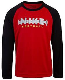 Little Boys Football-Print T-Shirt