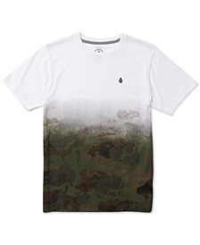 Big Boys Pounce Dip-Dyed Camouflage T-Shirt