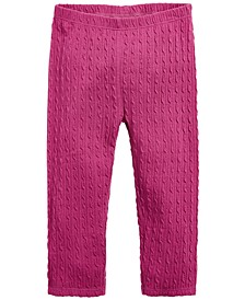Baby Girls Textured Leggings, Created for Macy's