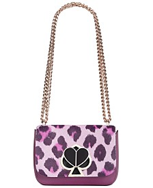kate spade new york Nicola Calfhair Twistlock Chain Shoulder Bag