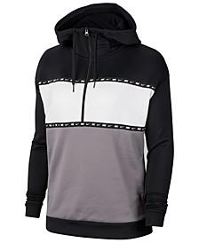 Therma Colorblocked Half-Zip Training Hoodie