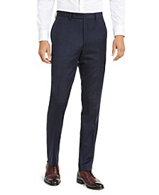Men's X-Fit Slim-Fit Stripe Flannel Suit Pants