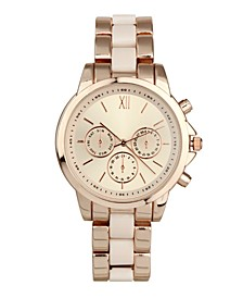 INC Women's Rose Gold-Tone Bracelet Watch 38mm, Created for Macy's