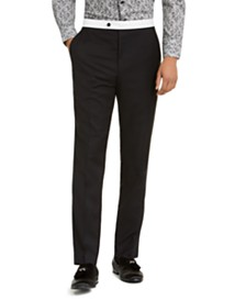 Sean John Men's Classic-Fit Stretch Tuxedo Pants