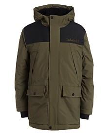 Timberland Big Boys Monroe Snorkel Hooded Jacket