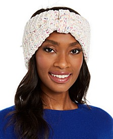 INC Space-Dyed Chenille Bow Headwrap, Created for Macy's