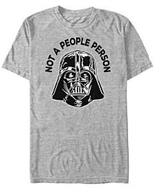 Men's Classic Darth Vader Not A People Person Short Sleeve T-Shirt
