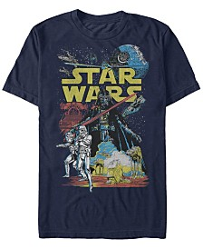 Star Wars Men's Classic Darth Vader Supreme Short Sleeve T-Shirt
