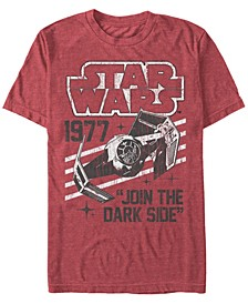 Men's Classic Join The Dark Side Quote Short Sleeve T-Shirt