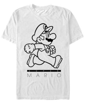 Nintendo Men's Super Mario On The Go Short Sleeve T-Shirt