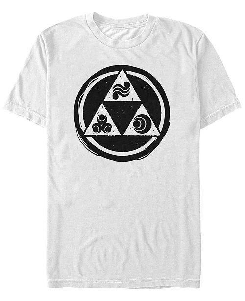 Men's Legend of Zelda Triforce Symbols Short Sleeve T-Shirt