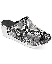 Women's Pepea Slide Wedge Sandals