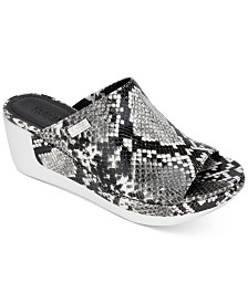 Kenneth Cole Reaction Women's Pepea Slide Wedge Sandals