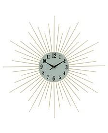 Spikes Wall Clock