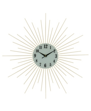 Three Star Spikes Wall Clock