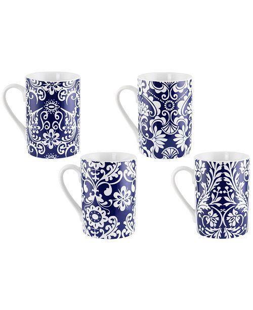 Three Star 4 Piece Set Mugs
