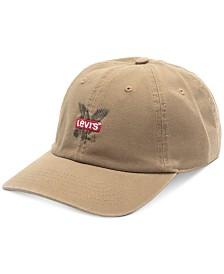 Levi's® Men's Eagle Logo Embroidered Snapback Baseball Hat