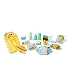 CLOSEOUT! Mine to Love Changing and Bath time Play Set