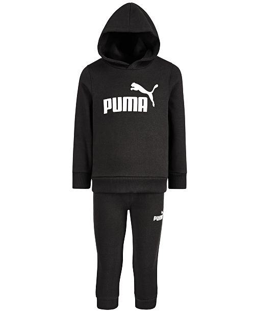 Puma Toddler Boys 2-Pc. Fleece Hoodie & Jogger Pants