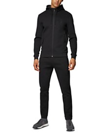 BOSS Men's Selwyn Zip-Through Hooded Sweatshirt