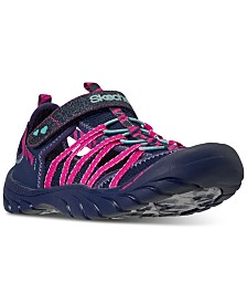 Skechers Big Girls Summer Steps Stay-Put Closure Sport Sandals from Finish Line