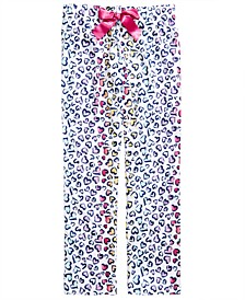 Little & Big Girls Heart-Print Pajama Pants