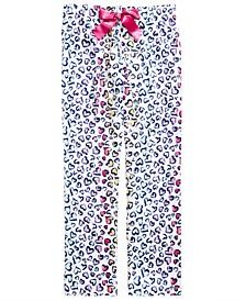 Little & Big Girls Heart-Print Pajama Pants