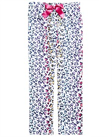 Max & Olivia Little & Big Girls Heart-Print Pajama Pants