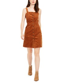 OAT Corduroy Overall Dress
