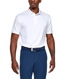 Men's Shoulder Striped Playoff Polo