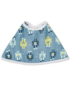 Baby Boys Retro Cotton Burpy Bib