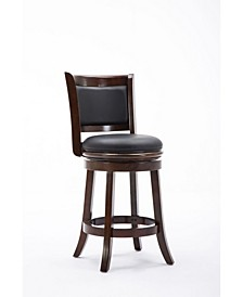 "Augusta Collection 24"" Swivel Barstool"