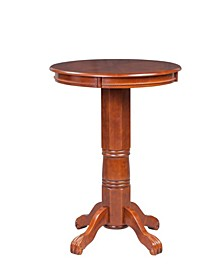 "Florence Collection Hardwood 42"" Pub Table"
