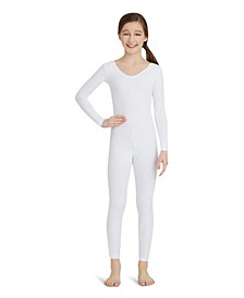 Big Girls Long Sleeve Unitard