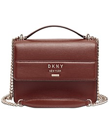 Ava Leather Shoulder Bag, Created for Macy's