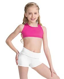 Capezio Little Girls Fold Over Boy short