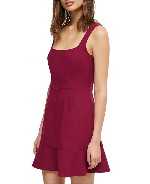 French Connection Dorotea Sleeveless Fit & Flare Dress