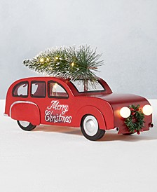 Holiday Vintage Car Décor